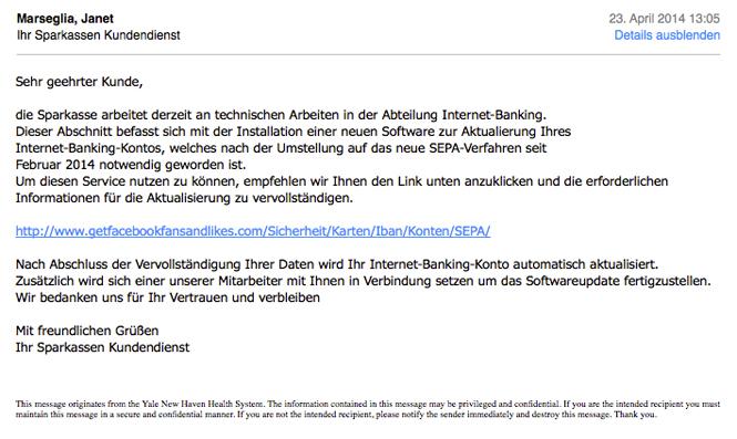E-Mail Screenshot