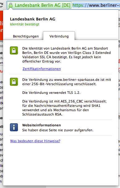 SSL Prüfung